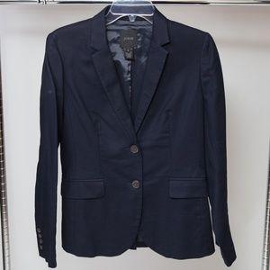J. Crew Navy Blue Blazer Size 4
